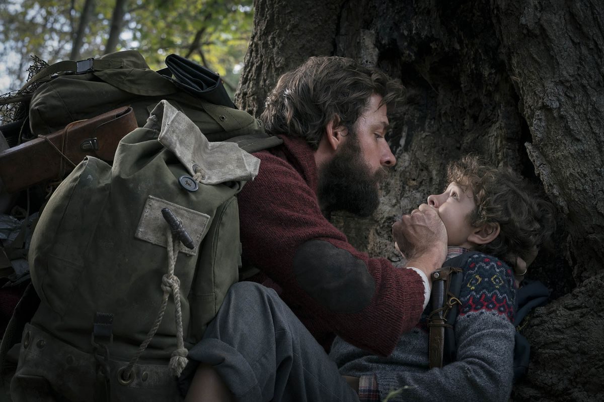 A Quiet Place is a creepy horror film set in an ...