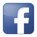 Facebook, fb, network, social, white icon | Icon search engine