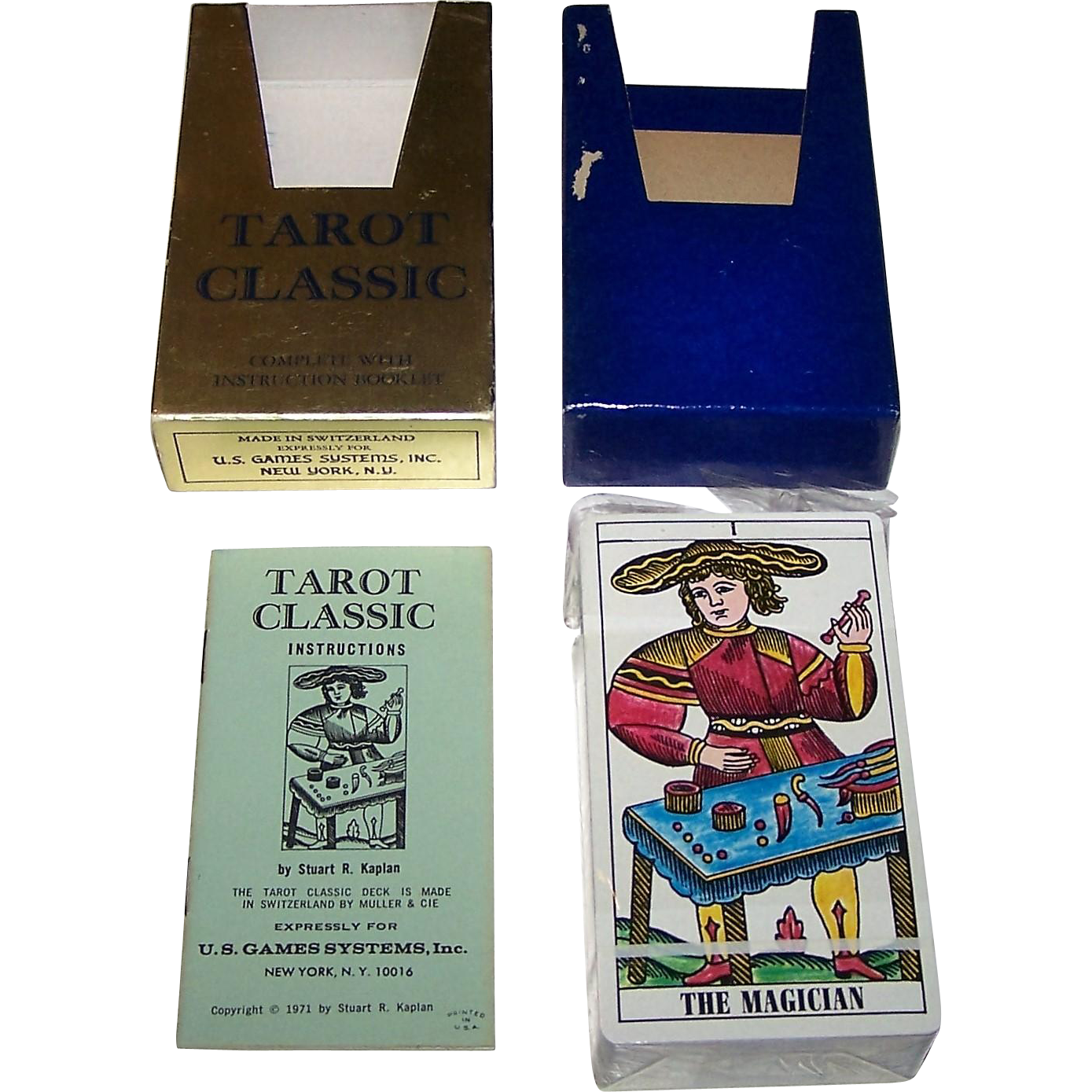 "AG Muller ""Tarot Classic"" Tarot Cards, U.S. Games Systems Publisher, from twoforhisheels on Ruby ..."