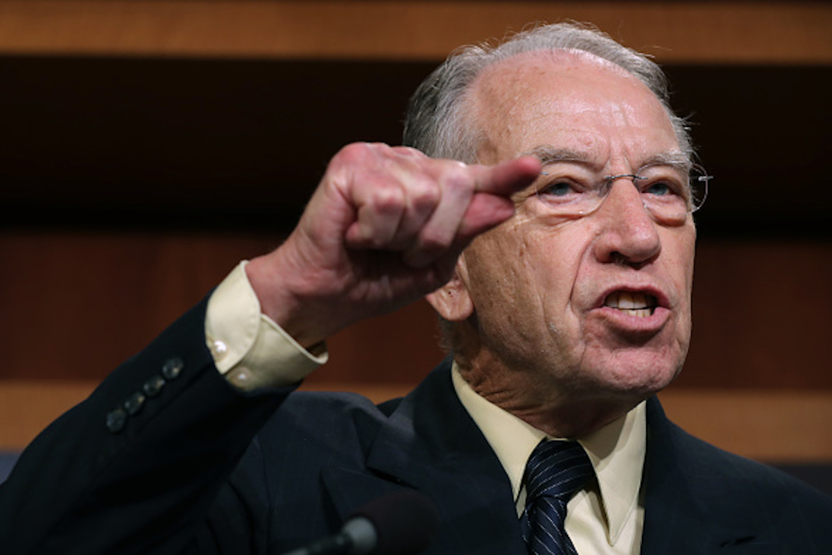 Senate Chair Chuck Grassley says time is running out on Durham probe…