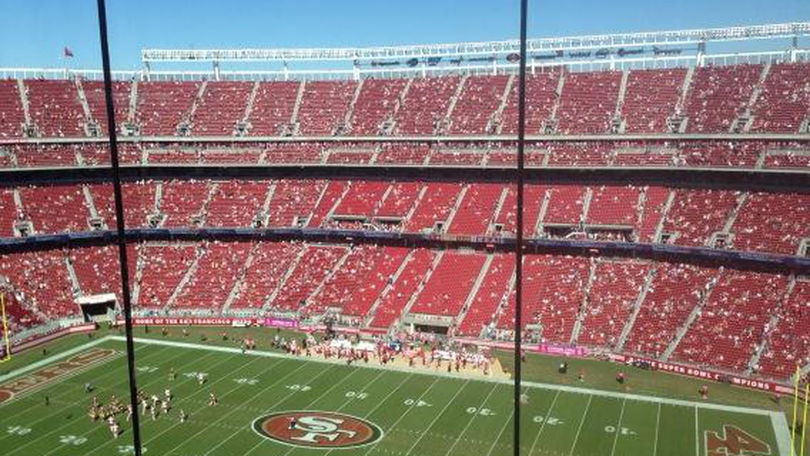 49ers stadium is a very empty, extremely lonely place when it's hot - SBNation.com