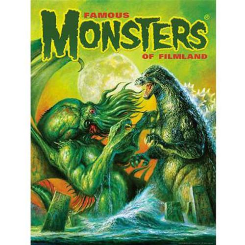 Godzilla VS Cthulhu Poster - Captain Company