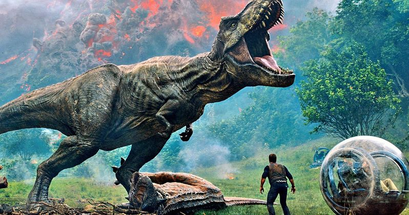 Jurassic World: Fallen Kingdom Trailer Is Finally Here