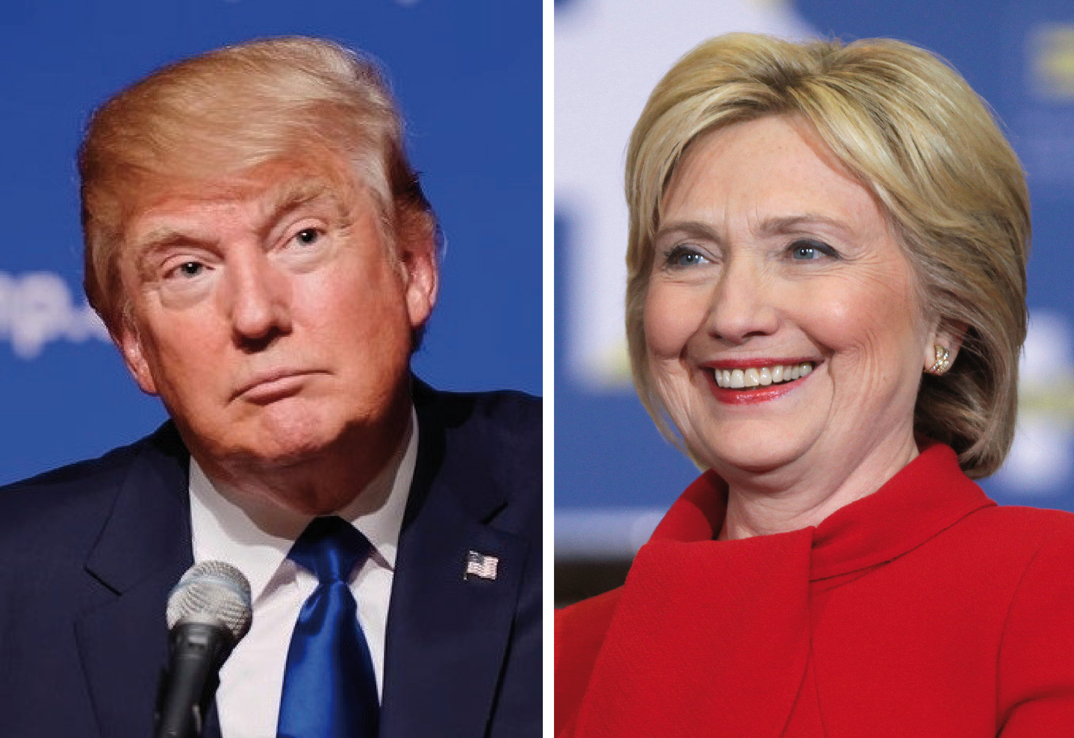 Trump and Clinton switch Vice Presidential candidates