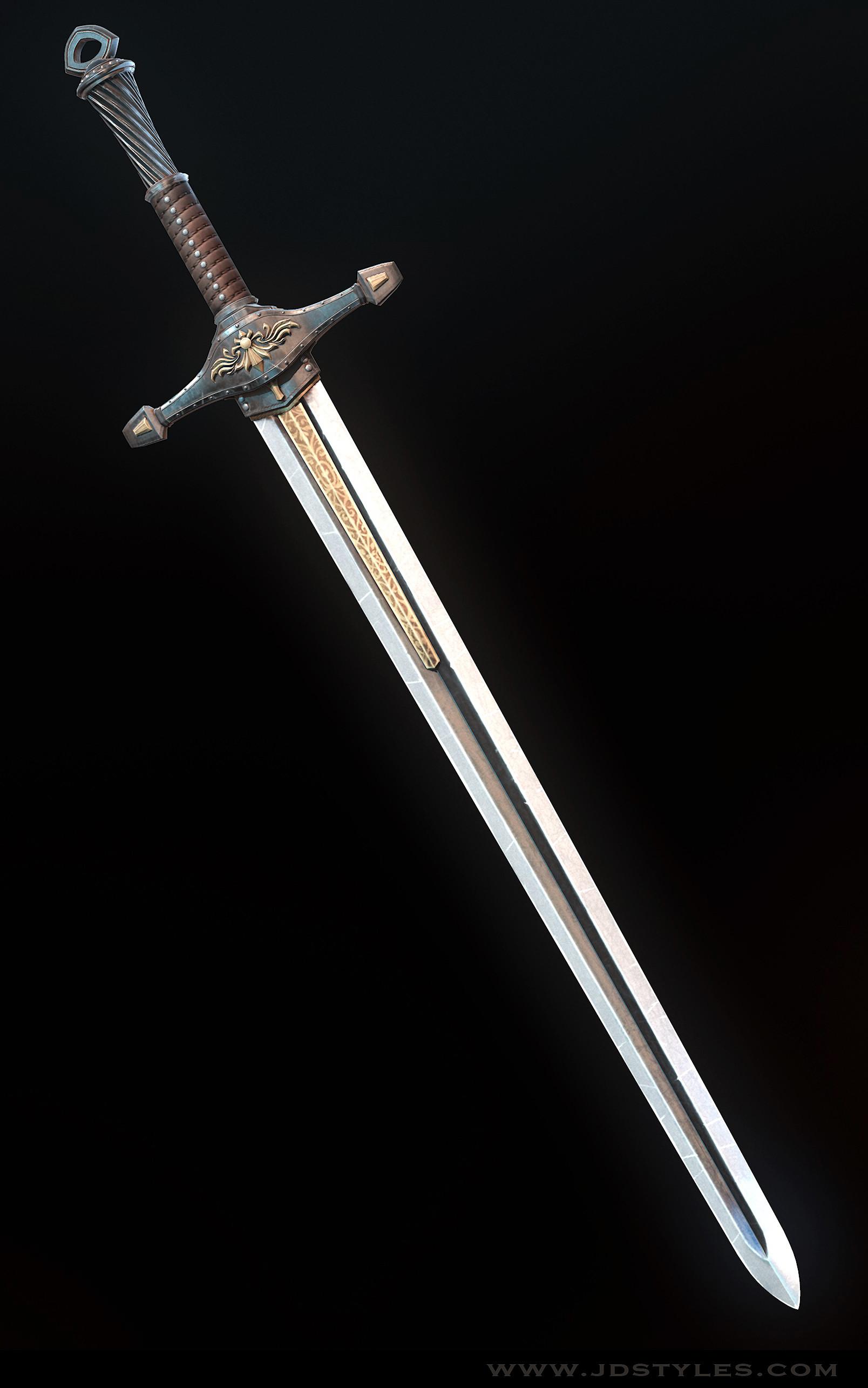 JD Styles - Medieval Long Sword