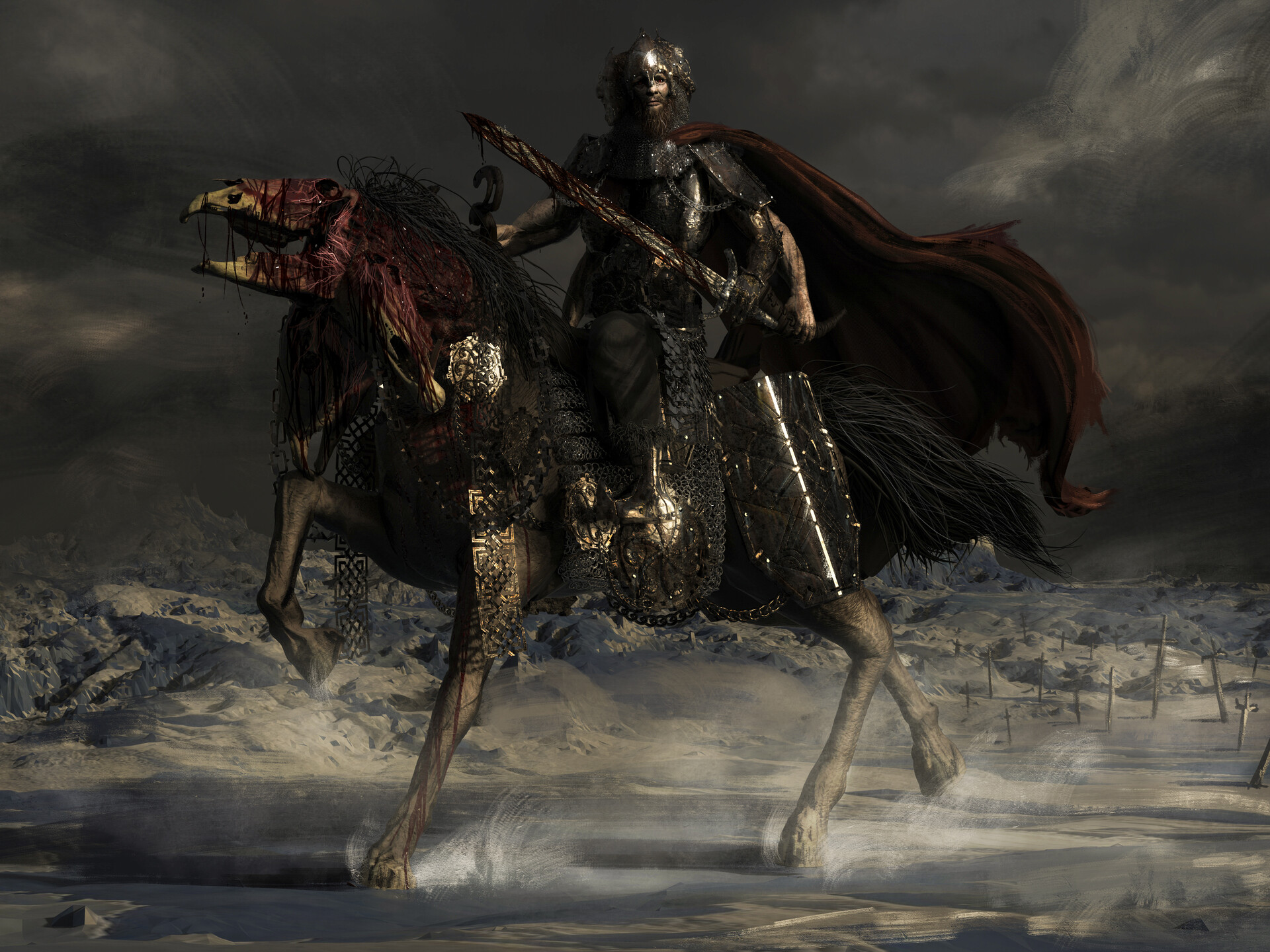 Elden Ring announced (FromSoftware's largest game to date ...