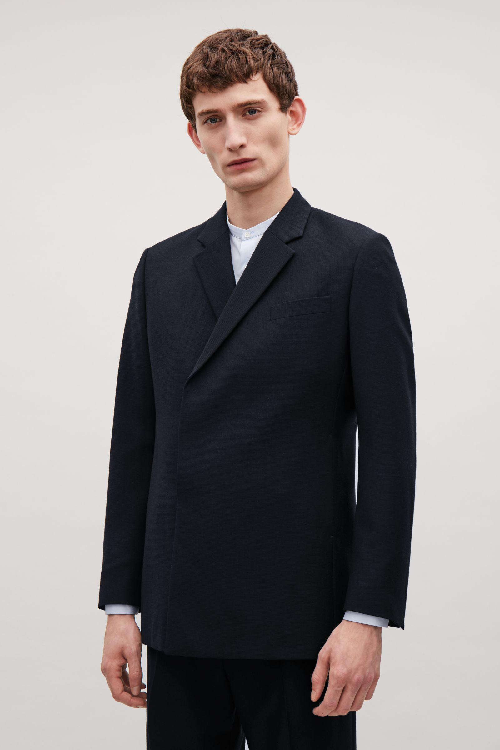 mens double breasted blazer