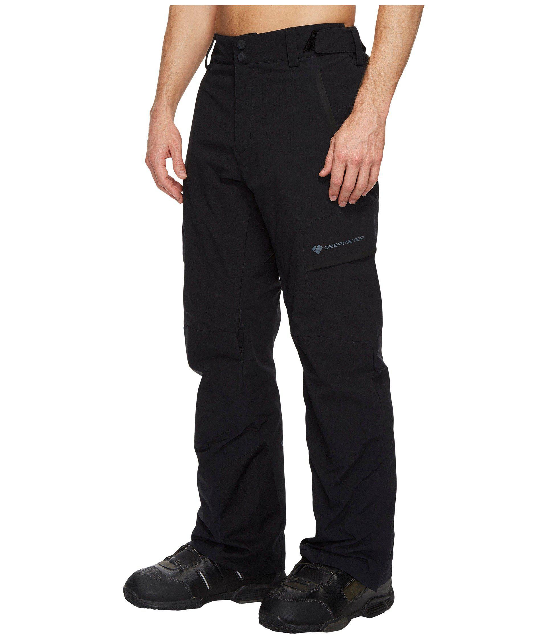 Obermeyer Synthetic Ballistic Pants in Black for Men - Lyst
