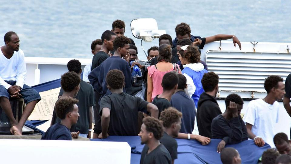 At least 78 migrants stranded at sea, not allowed to any EU port…