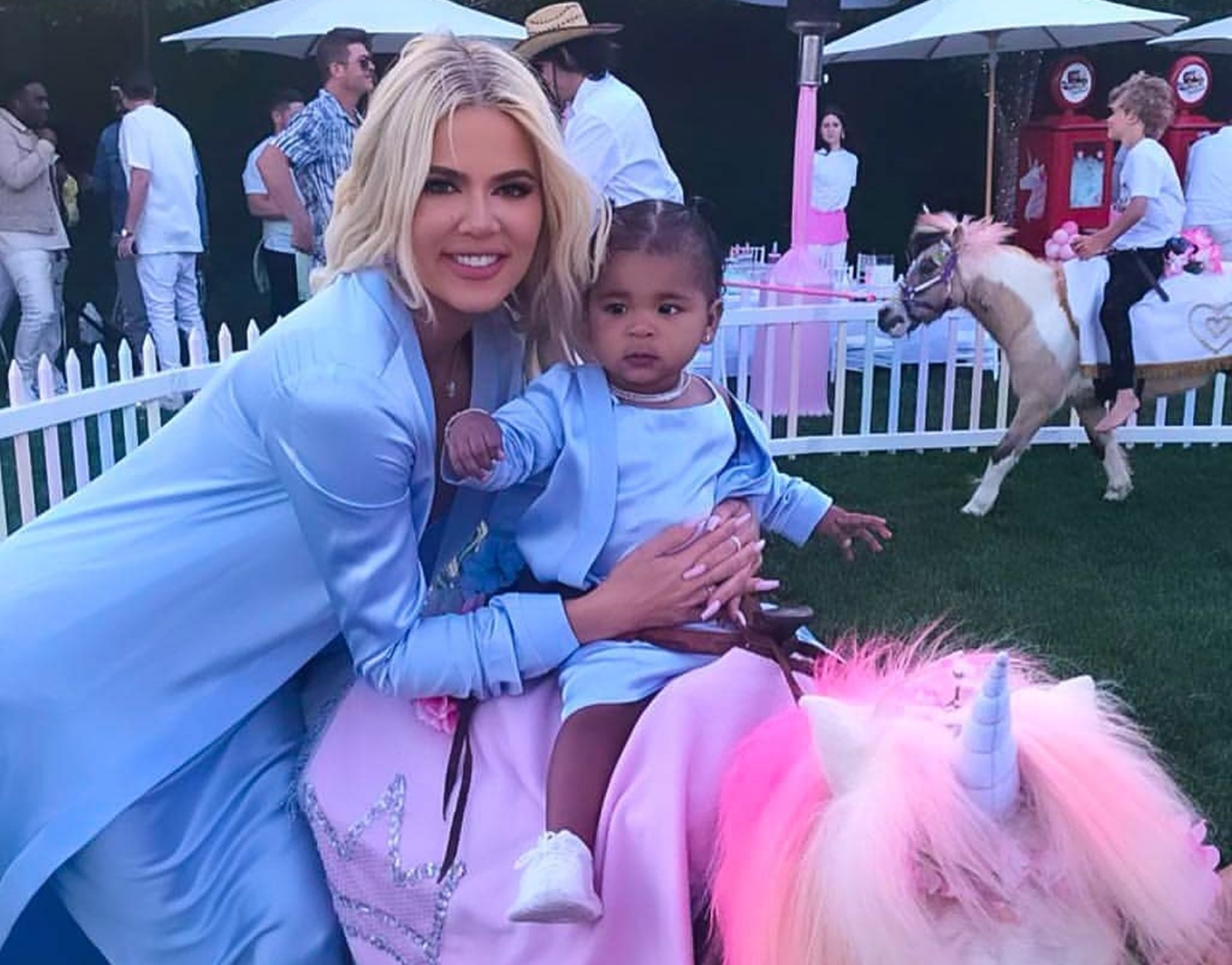 Tristan Thompson Shares Adorable Video Where He Is Celebrating At Baby True's Birthday Party ...