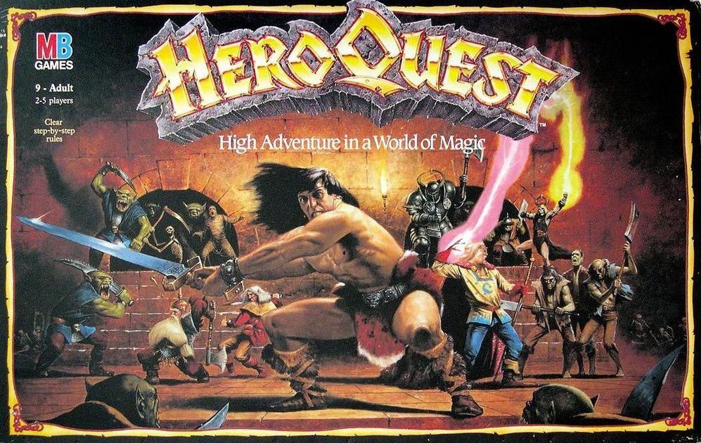 HeroQuest | Board Game | BoardGameGeek