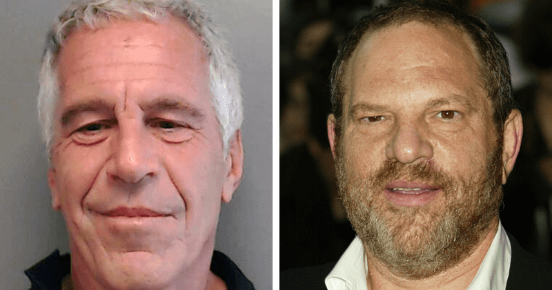 Jeffrey Epstein kicked Harvey Weinstein out of his house after mogul's 'aggressive treatment' of his 'favourite girl'…