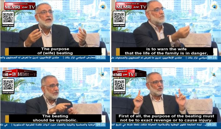 WATCH Head Of Fatwa Committee At The Islamic University Of Gaza: 'Like A Father Beats His Son ...