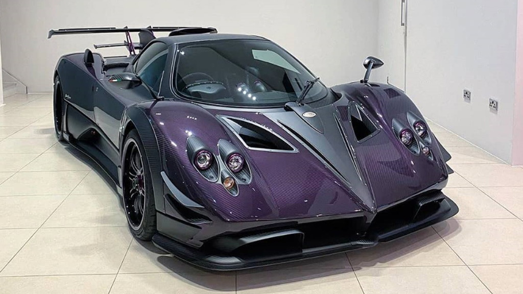 The purple Zun is the latest one-off Pagani Zonda