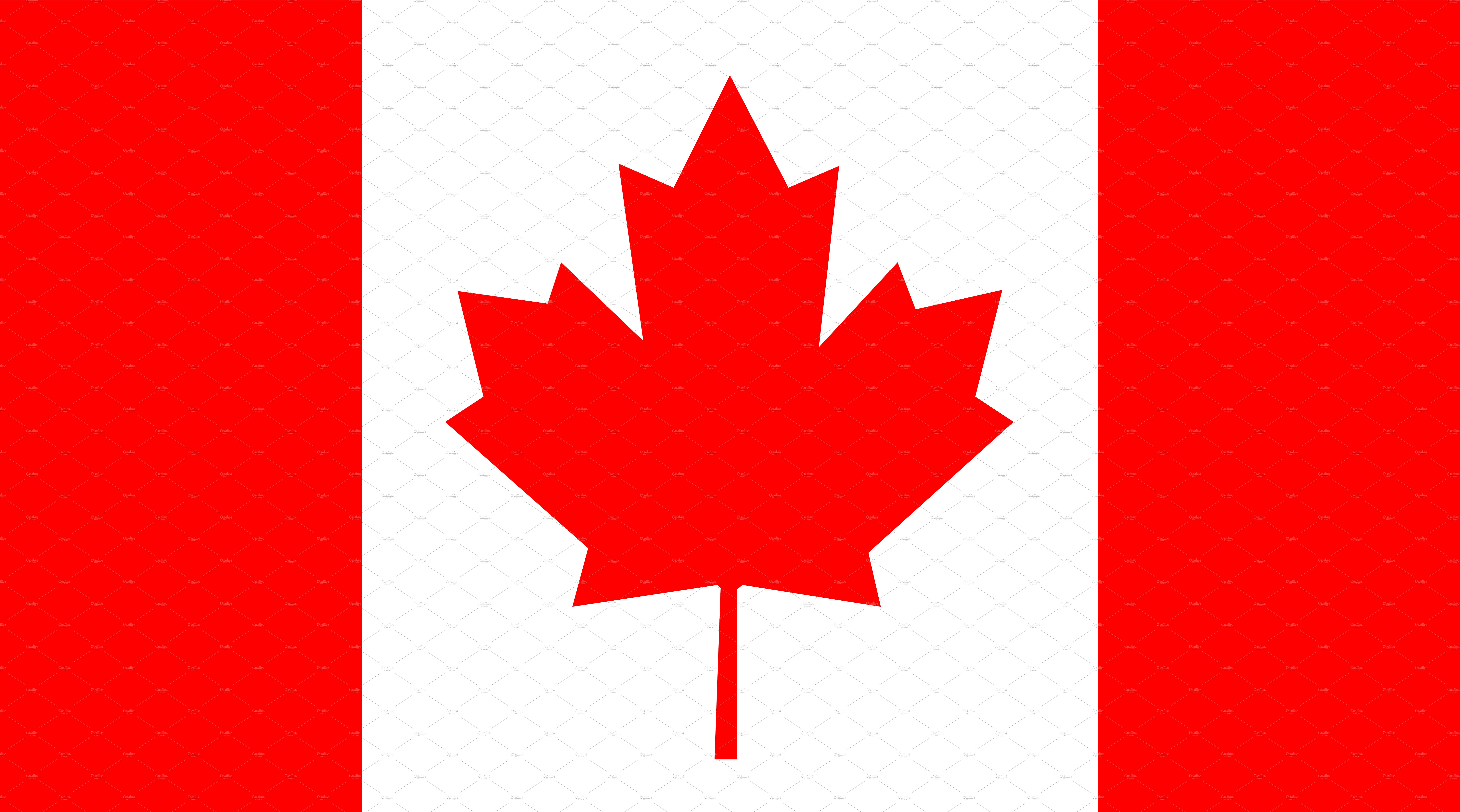 Canada Flag, Flag of Canada vector | Custom-Designed Icons ...