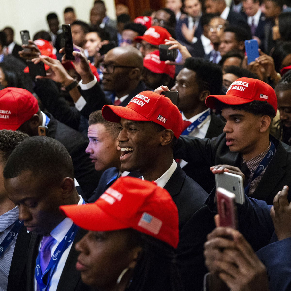 Rasmussen poll: President Trump's approval rating among black voters hits all-time high in the wake of rioting…