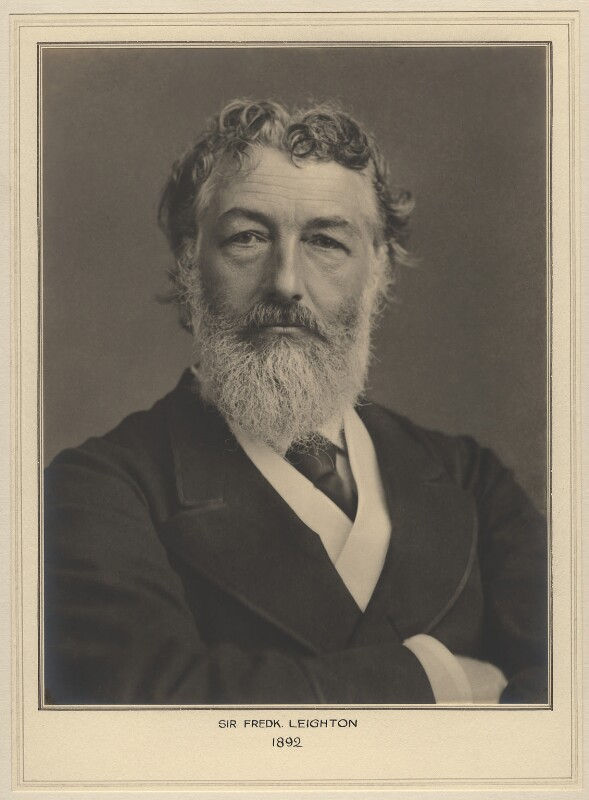 NPG x127457; Frederic Leighton, Baron Leighton - Portrait ...