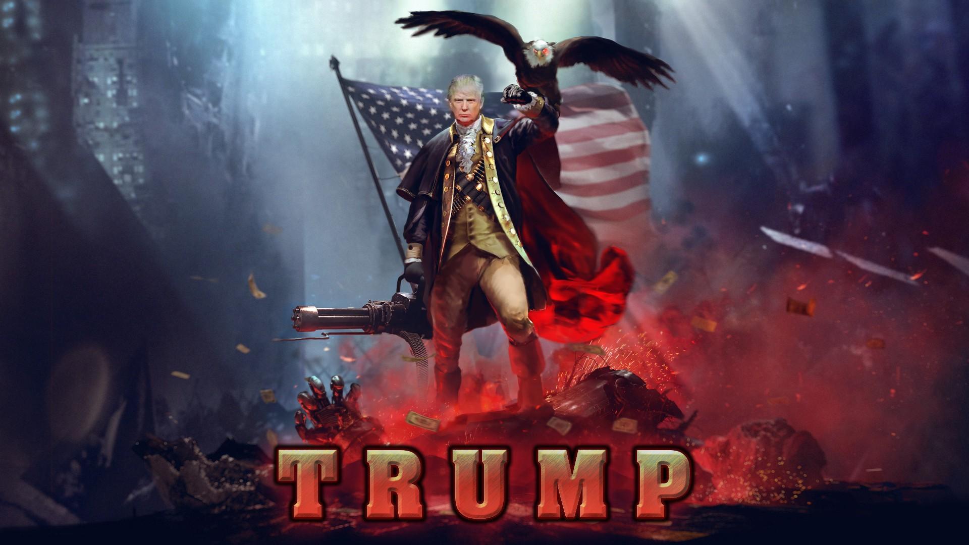 Wallpaper Of The Day: Patriotic Trump - Common Sense ...