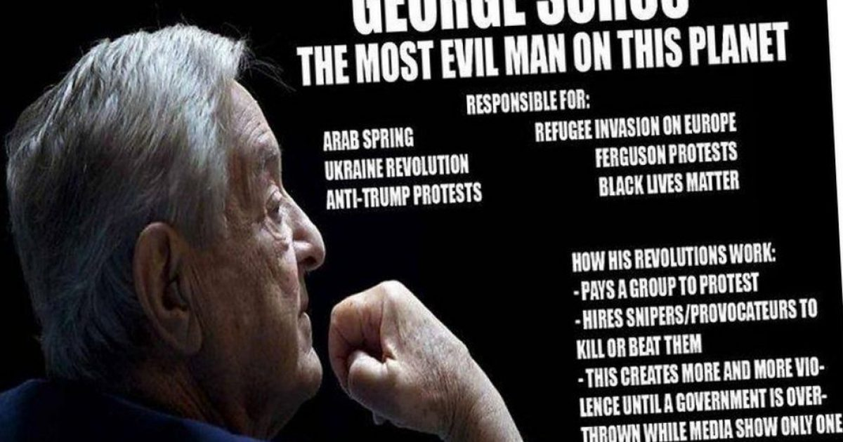 'REPORT: Soros Plot to Blow it All Up… This is Terrifying ...