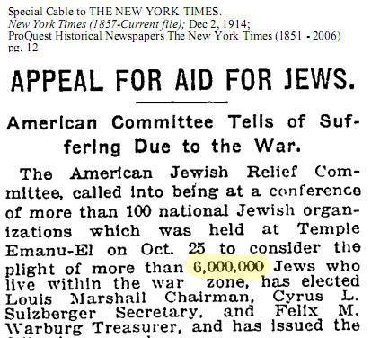 The six-million figure: another holocaust lie and the ...