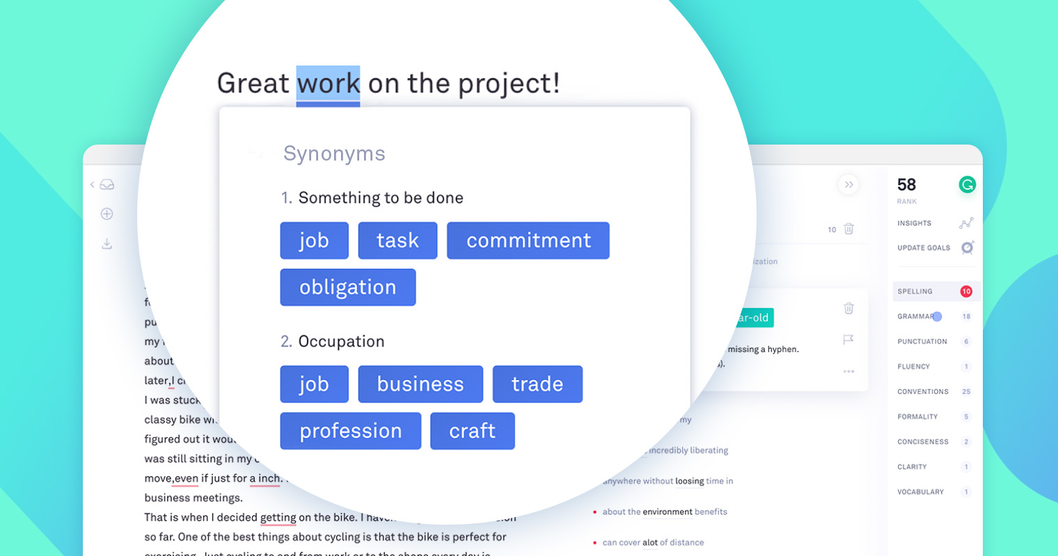 20 Overused Words Grammarly Can Help You Diversify in Your ...