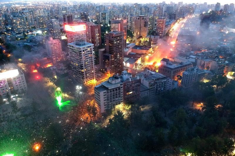 Notas al Galope sobre la revuelta popular en Chile ...