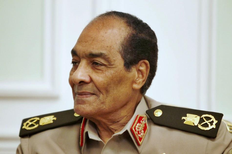 Former Minister of Defence Tantawi