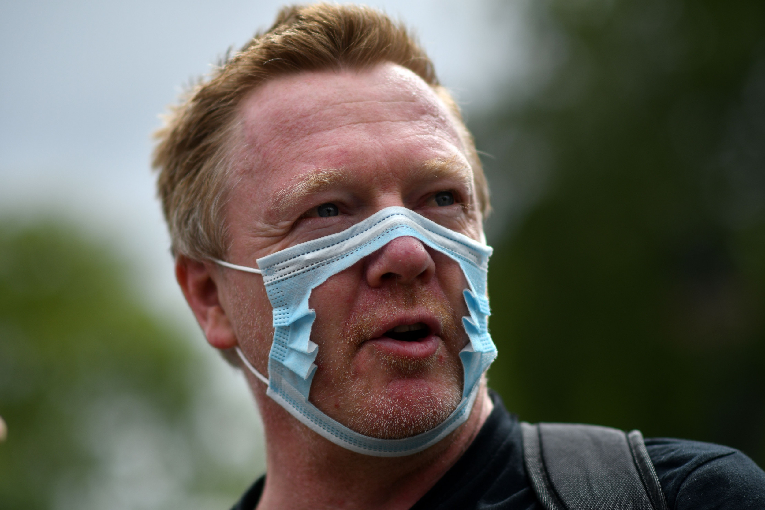 Hundreds Protest Against Having to Wear Face Masks in England