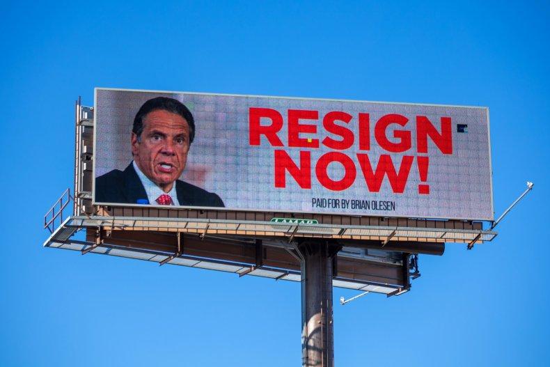 'Resign, Mr. Cuomo': New York Paper That Endorsed Governor ...