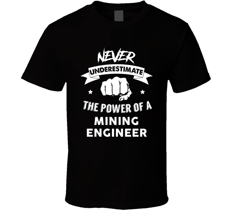 Never Underestimate The Power Of A Mining Engineer Funny ...