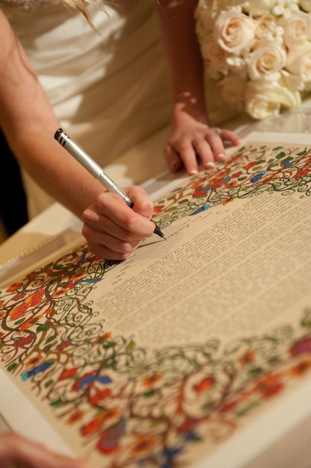 Gorgeous Ketubah Designs from Traditional Jewish Weddings ...