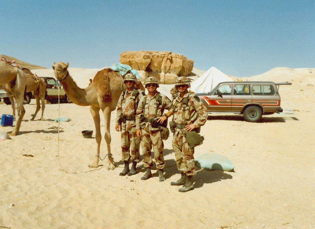 How many RP members are and proud to be Desert Storm Veterans?   RallyPoint