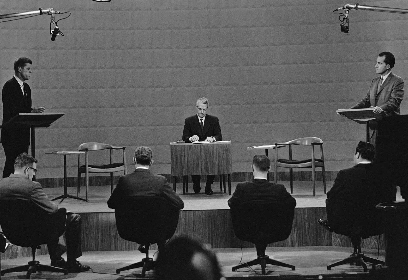The Fascinating History Of Presidential Debates   Here & Now