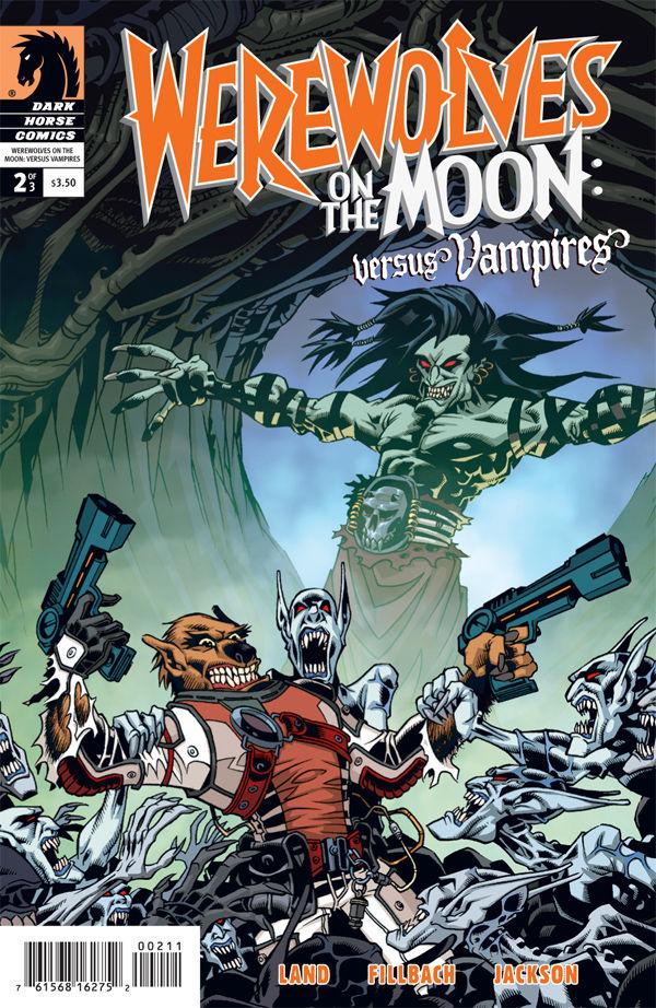 Werewolves on the Moon: Versus Vampires #2 :: Profile :: Dark Horse Comics