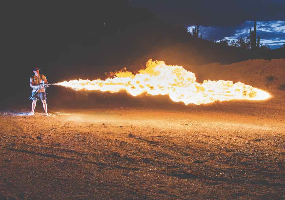 XL18 Flamethrower For Sale | Thowflame.com