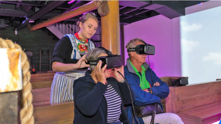 Experience Volendam in Virtual Reality.