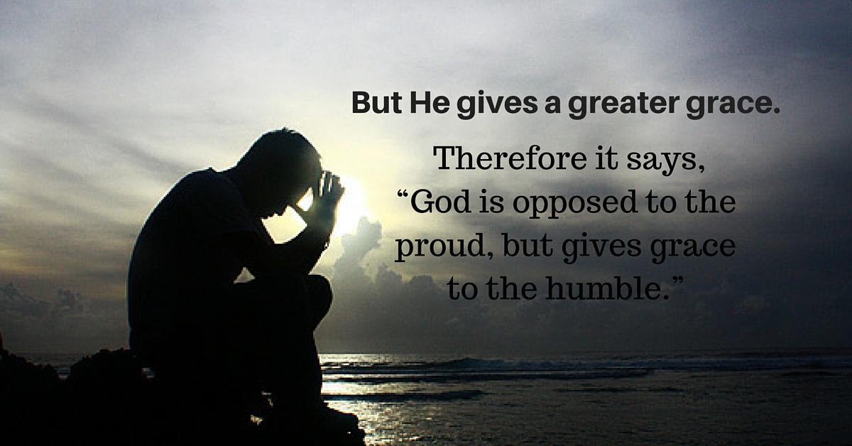 Daily Bible Verse | Grace | James 4:6
