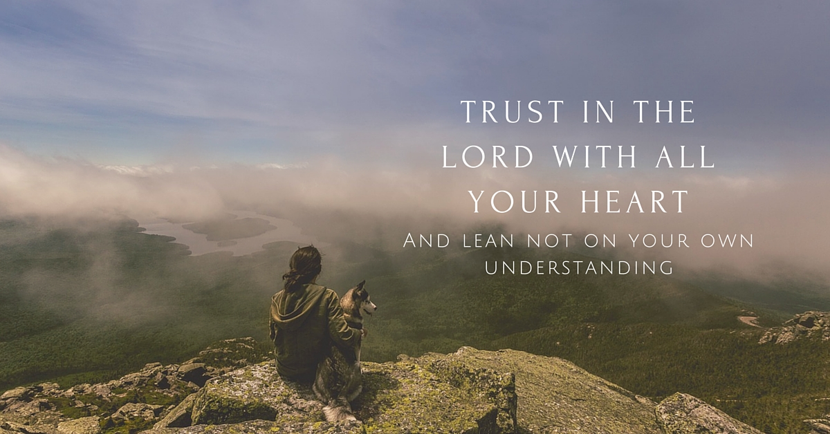 Daily Bible Verse | Guidance | Proverbs 3:5
