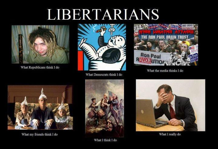 Different views on libertarians: this couldn´t be more ...