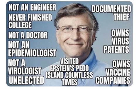 """Bill Gates Shocked by """"Crazy Conspiracy Theories"""" About COVID-19"""