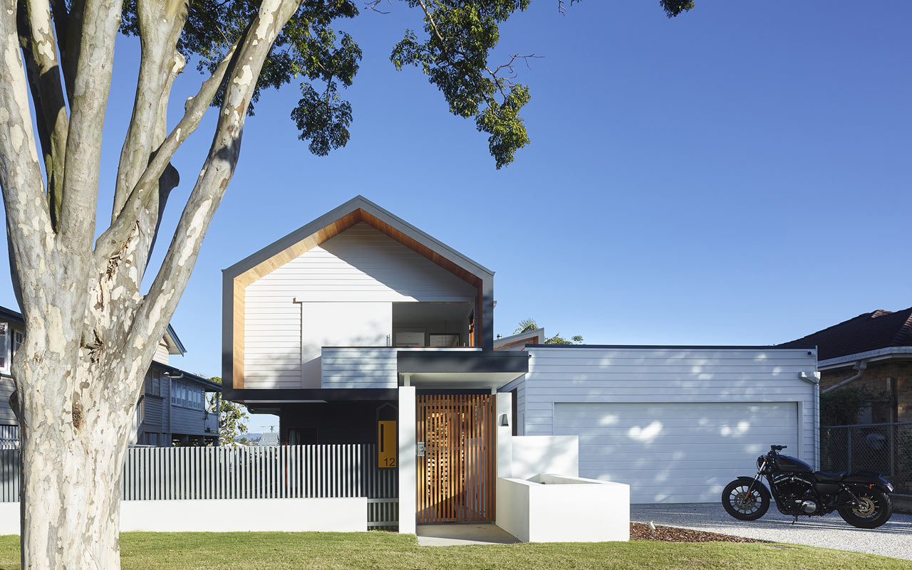 Unassuming Home Composed of Simple Forms - Design Milk