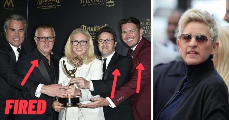 Ellen DeGeneres Confirms Firing Of Three Producers And ...