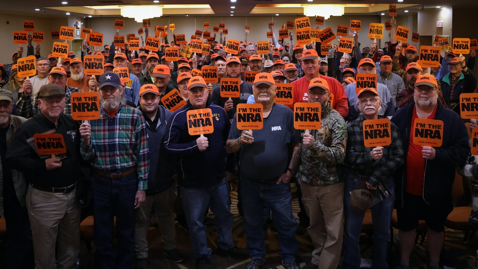 Hundreds Of 'First Time' Pro-Gun Activists Flood NRA Town Hall In Virginia…
