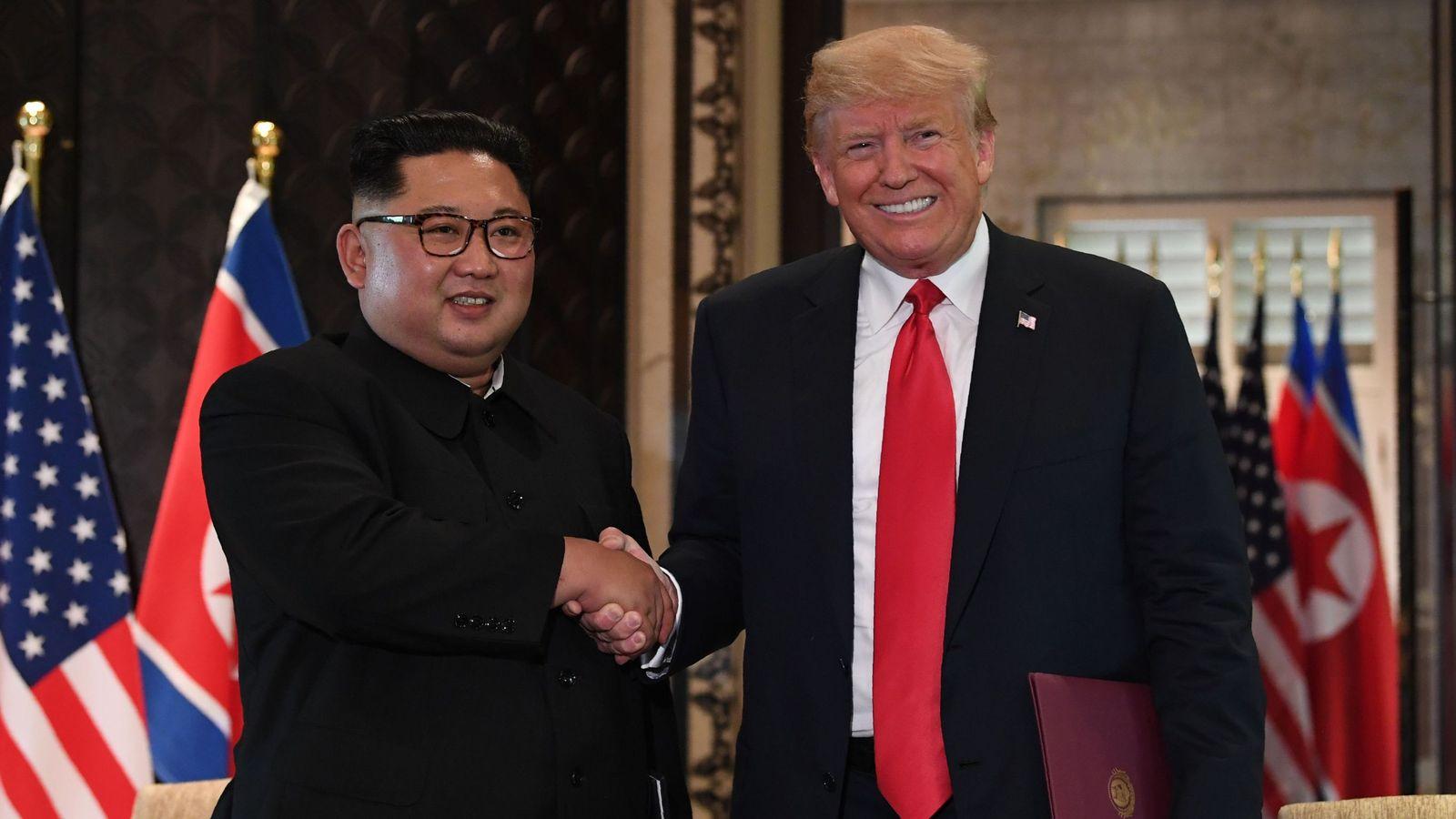 Trump on Kim Jong Un: 'We fell in love after beautiful ...