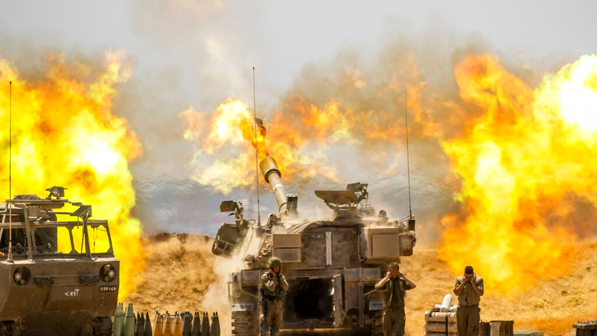 Israel-Gaza violence: Israel vows to continue airstrikes after fresh ...