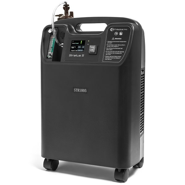 Stationary Home Oxygen Concentrator - 5 Liter