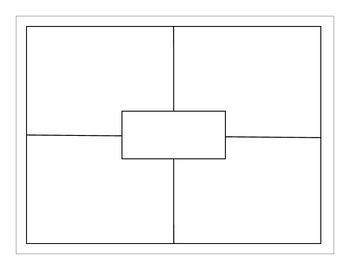 Four Square (blank) by EducPrek12 | Teachers Pay Teachers