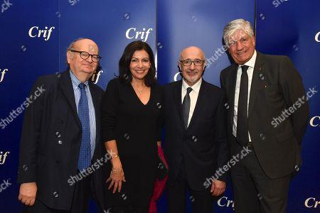 Photos de stock de CRIF annual dinner Paris (exclusives ...