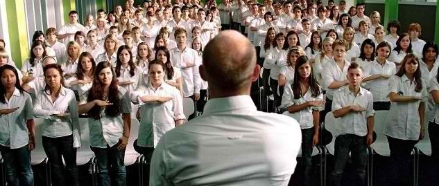 """Intervención pedagógica """"con"""" el Cine. Película """"La Ola"""""""