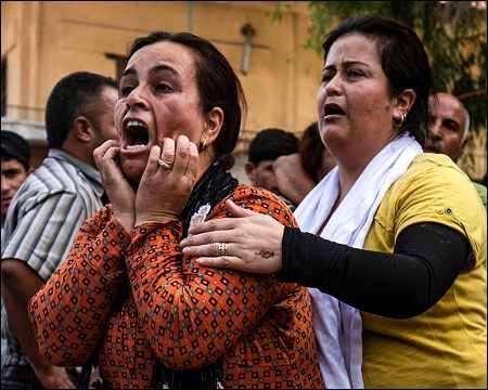 Turkish air strikes kill 14 civilians in Syrian Kurdistan ...